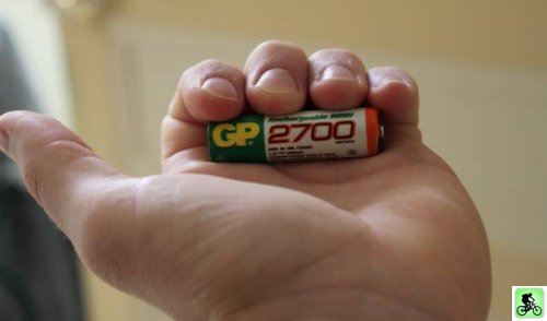 Pile rechargeable GP 2700