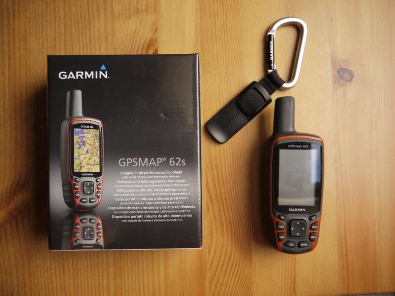 Le bundle light du gpsmap 62s