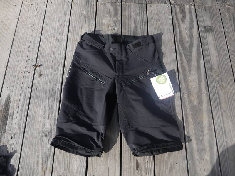 Pantalon/short vélo Vaude Morzine - en mode short
