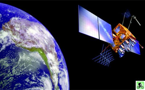 Satellite en orbite