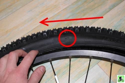 Et si on bougeait en vtt entretien roues et pneus r paration d 39 une crevaison de la chambre - Combien coute une chambre a air de velo ...
