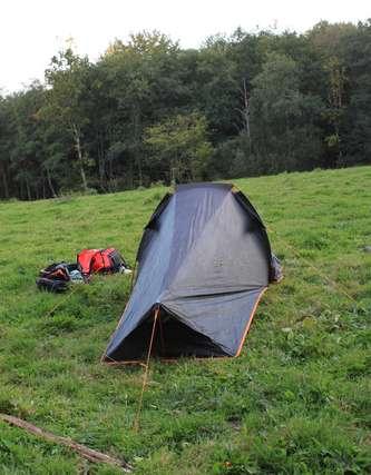 Tente T2 Ultralight pro de la  marque Quechua, idéale pour voyager ;-)